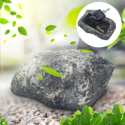 Fake Rock for Key Security Storage