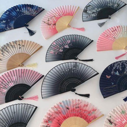 Foldable Japanese Hand Fan
