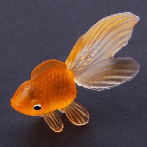 Rubber Fake Goldfish Toys (20pcs)