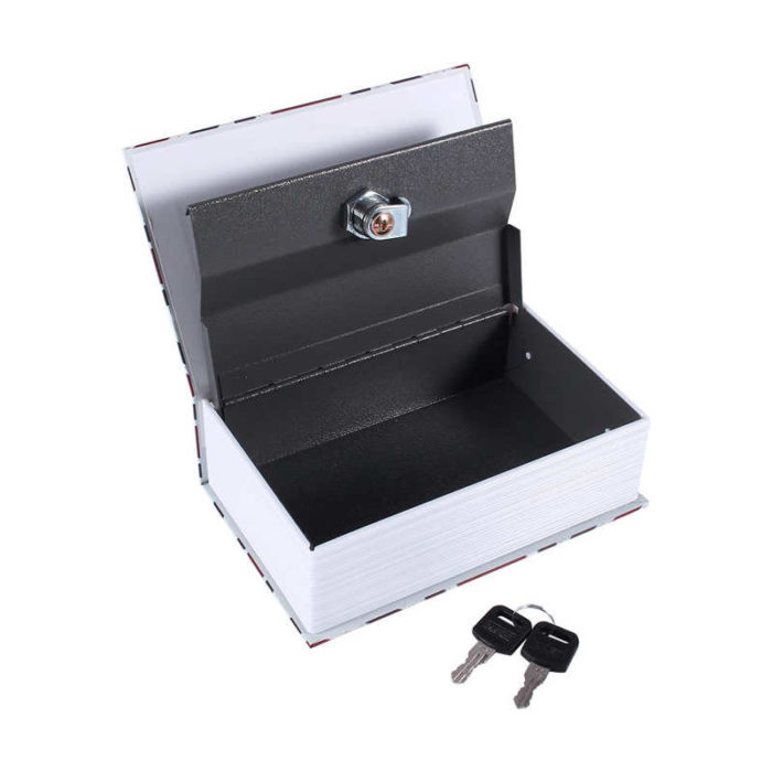 Book Safety Box Jewelry and Cash Safe