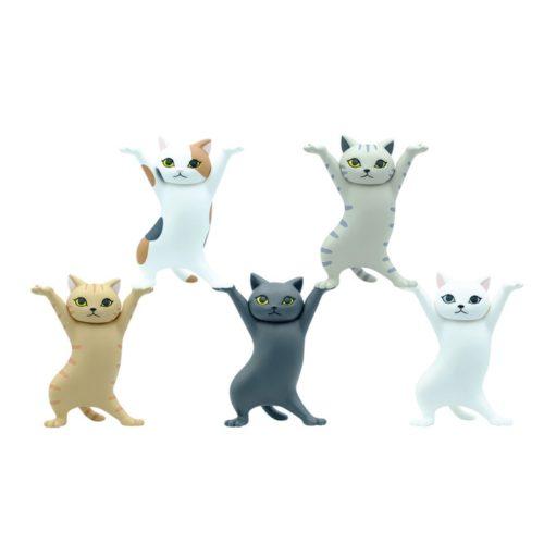 Cat Pen Holder Figurine