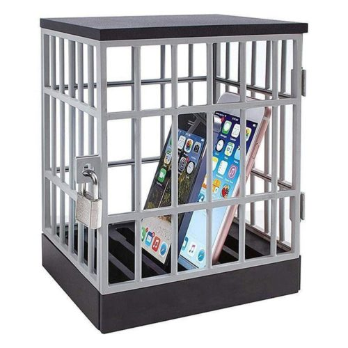 Portable Lock-Up Jail Phone Cage