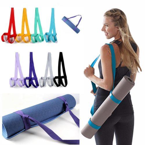 Adjustable Loops Yoga Mat Carrier Strap