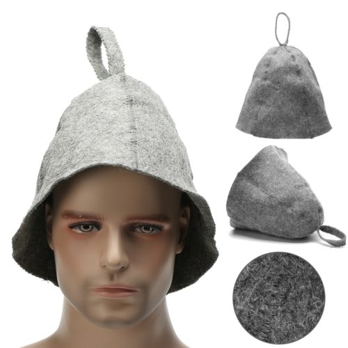 Felt 90% Wool Bath Sauna Hat