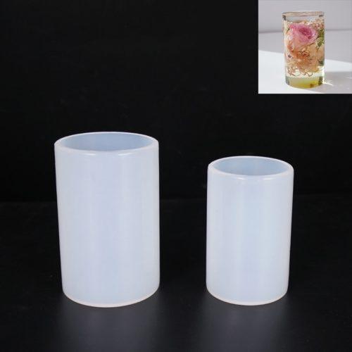 Reusable Non-Stick Cylinder Silicone Mold