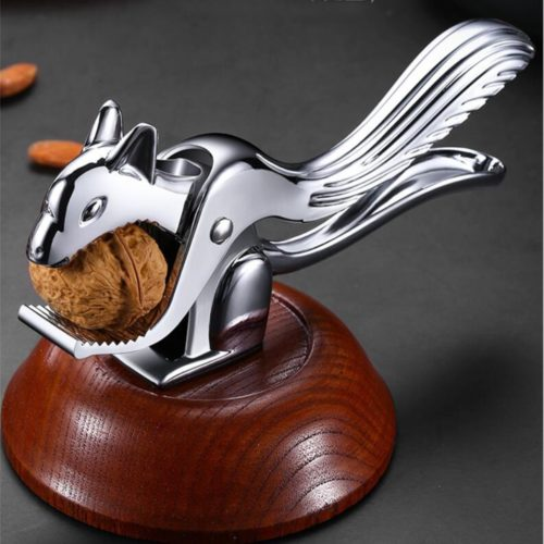 Non-Slip Metal Squirrel Nutcracker