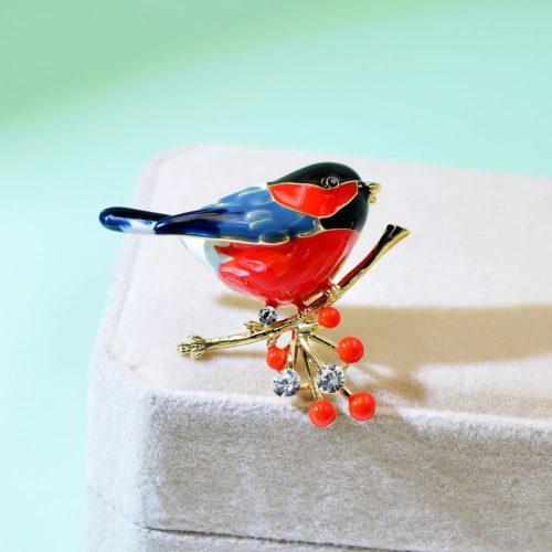 Bird Brooch Cute Animal Design Pin