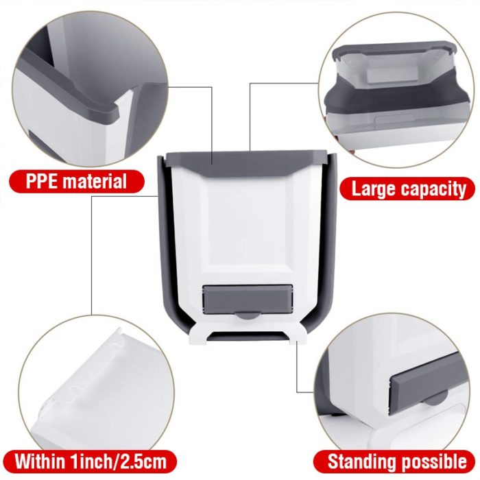 Foldable Hanging Trash Bin