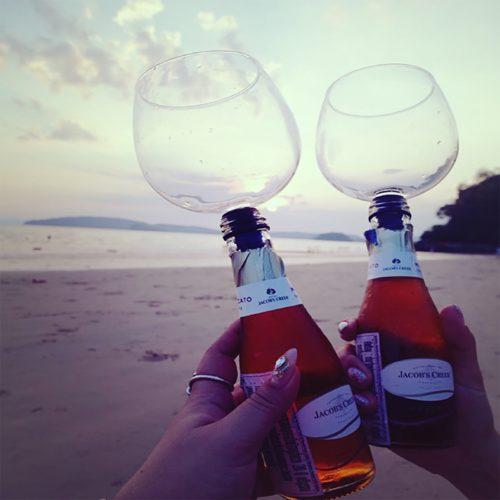 Wine Bottle Glass Topper
