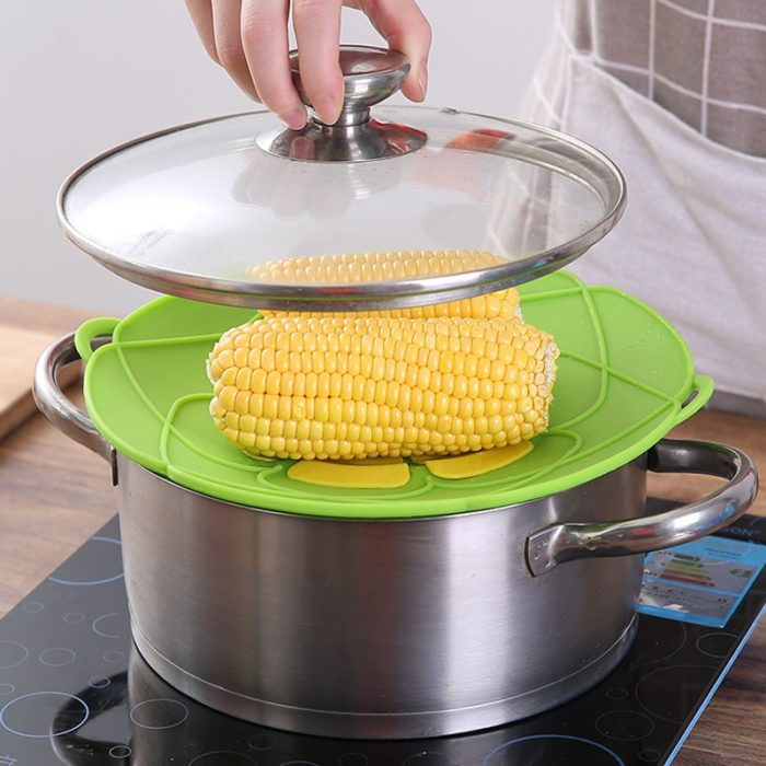 Silicone Lid Boil Over Stopper
