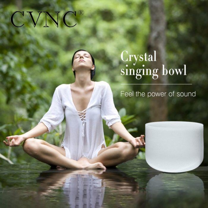 Crystal Singing Bowl Meditation Crystal