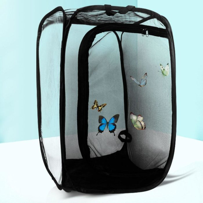 Collapsible Butterfly Mesh Cage