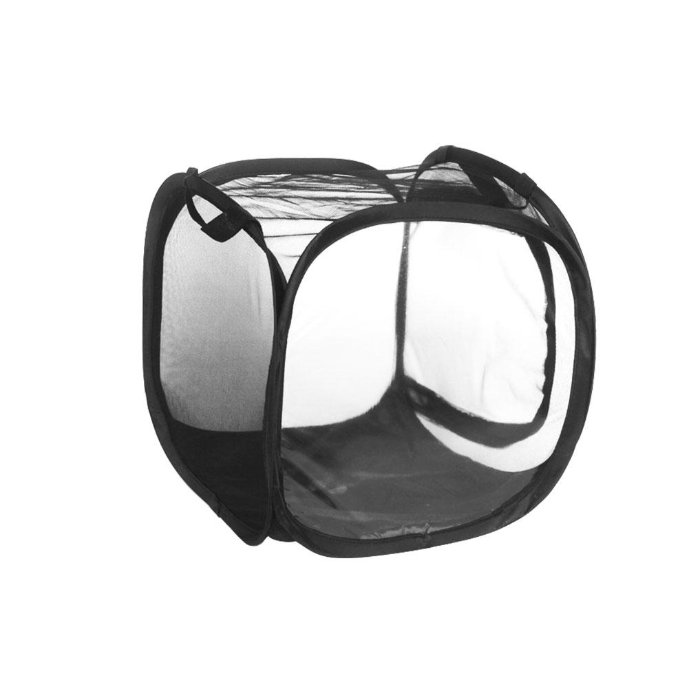 Butterfly Habitat Mini Insect Butterfly Cage Foldable Pop-up Insect Mantis Breeding Butterfly Mesh Cage Housing