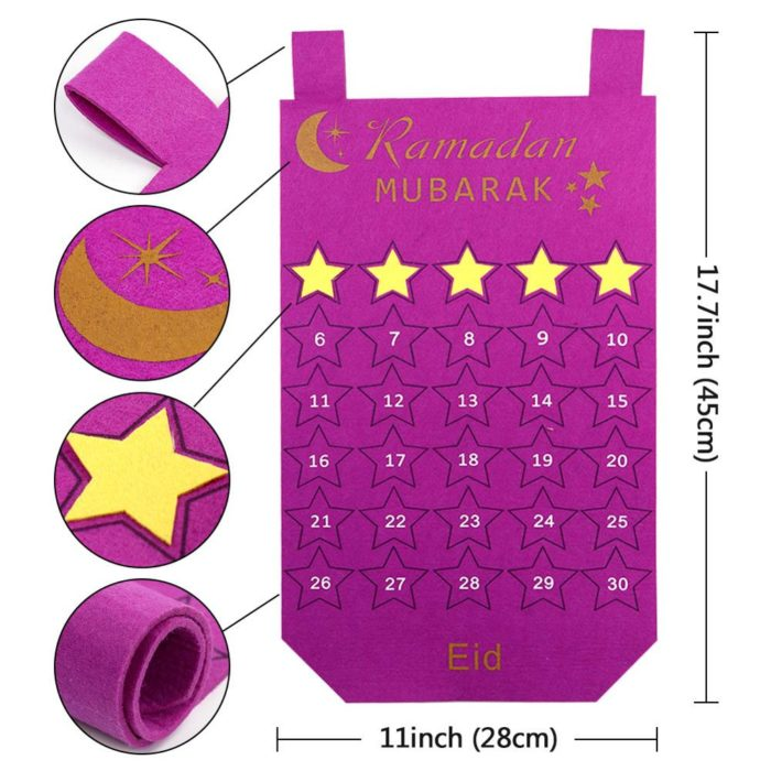 30-Day Ramadan Countdown Calendar