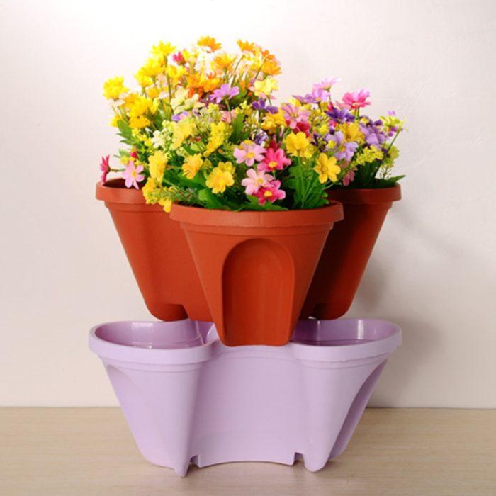 Vertical Stackable Planter Pot