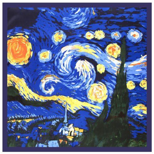 Van Gogh Starry Scarf