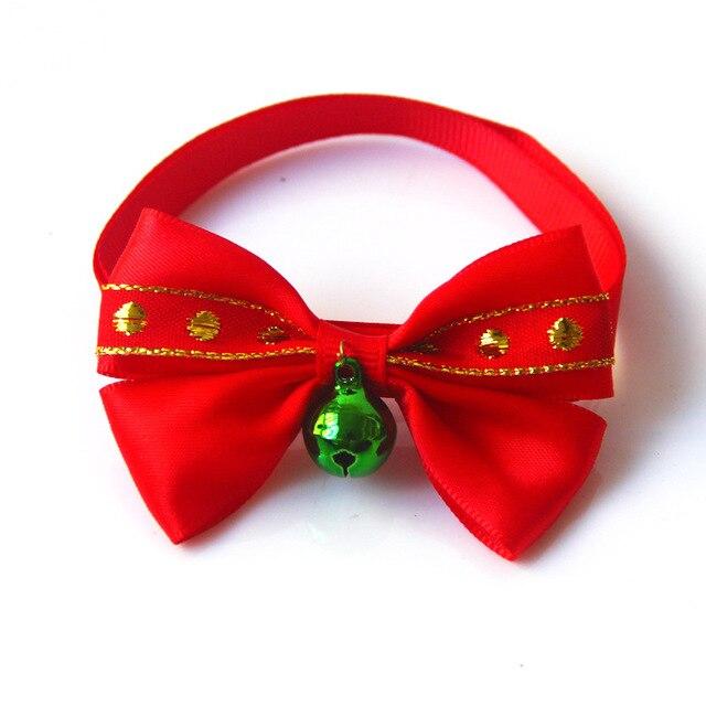 Dog Christmas Bowtie Adjustable Strap