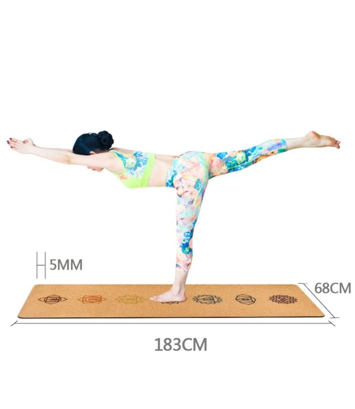 Natural Non-Slip Cork Yoga Mat