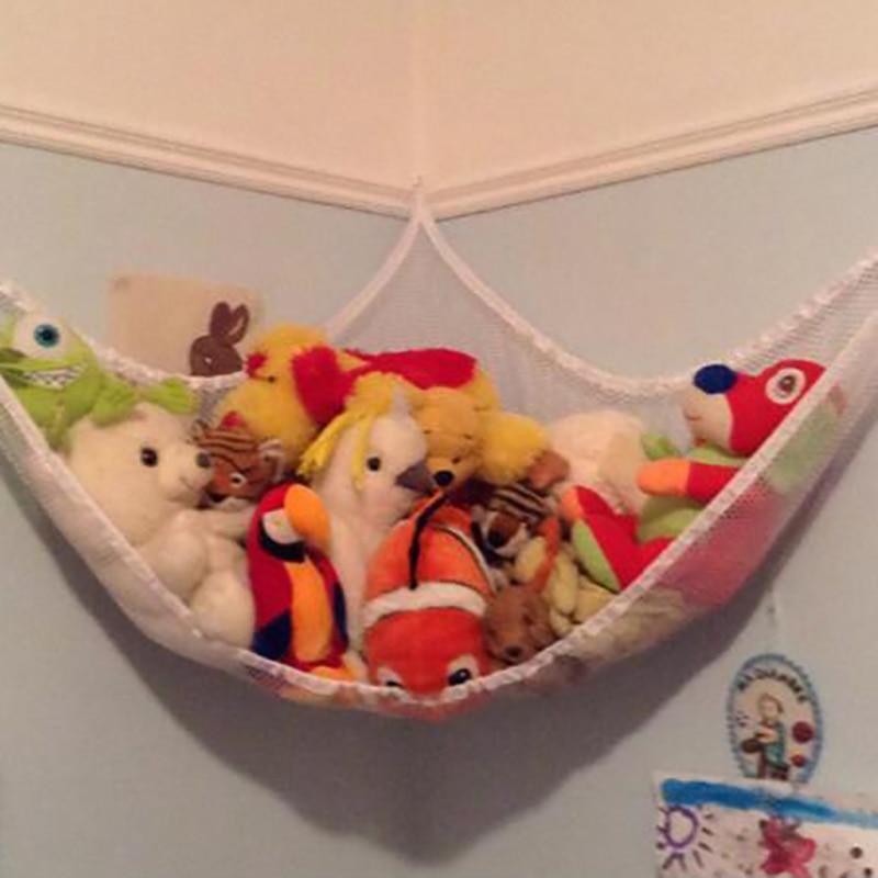 New Hammock Net For Toys Storage Children Room Toys Stuffed Animals Toys Hammock Net Organize Storage Holder