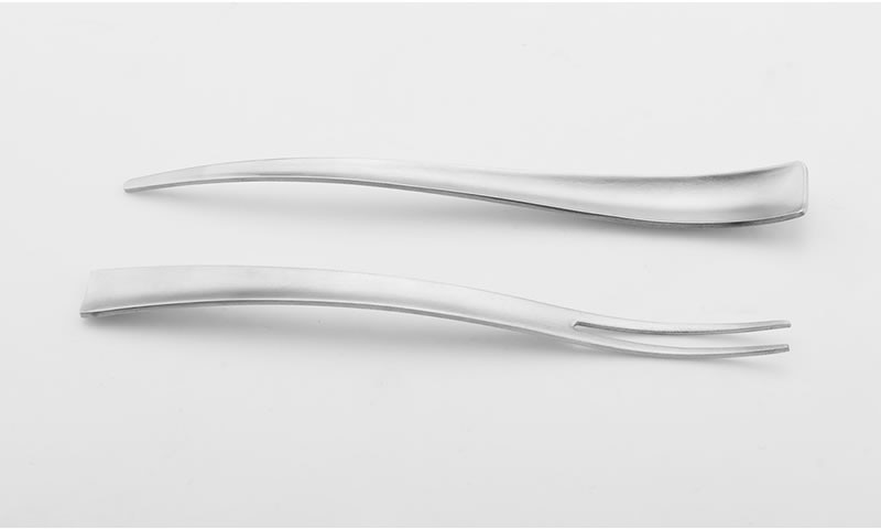 Upspirit Snail Tongs Seafood Fork Set 304Stainless Steel Hollow Head Small Food Clips Mini Crab Oyster Picks Serving Utensils