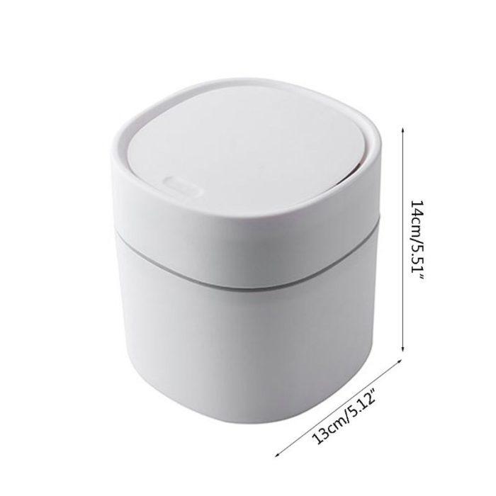 Mini 2L Desktop Trashcan