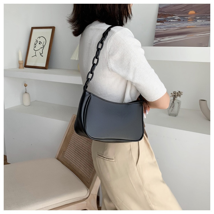 Casual Bag for Ladies with Zipper Closure