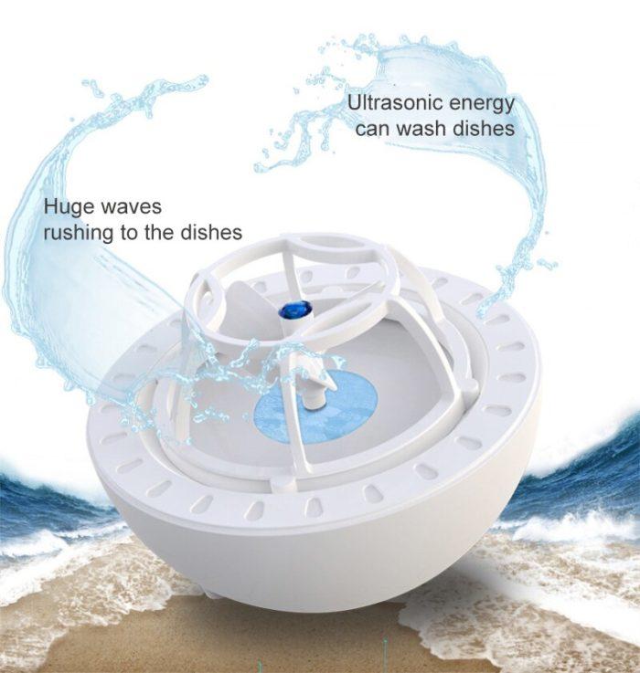 Ultrasonic Mini Portable Dishwasher