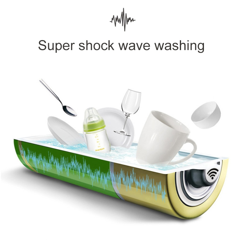 2020 Multifunctional Ultrasonic Mini USB Dishwasher Lazy Portable Kitchen Surf Dishwasher Dishwasher Cleaner Kitchen Accessories