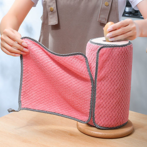 Super Absorbent Kitchen Cleaning Cloths (5 pcs)