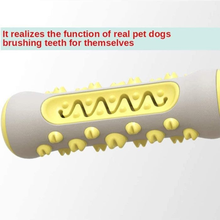 Rubber Dog Chew Toothbrush