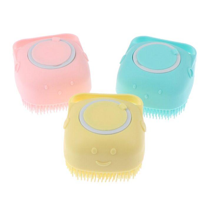 Soft Scrubber Silicone Bath Body Brush