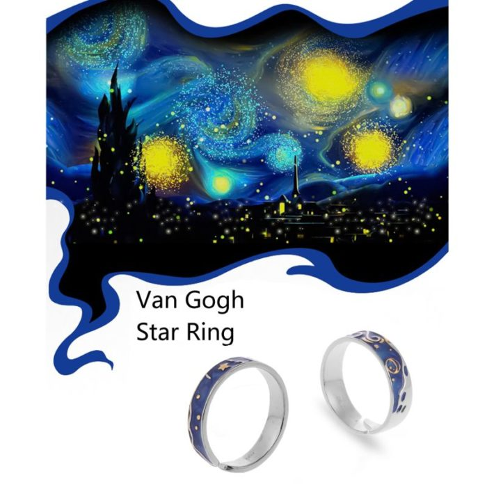 Open Type Starry Night Ring