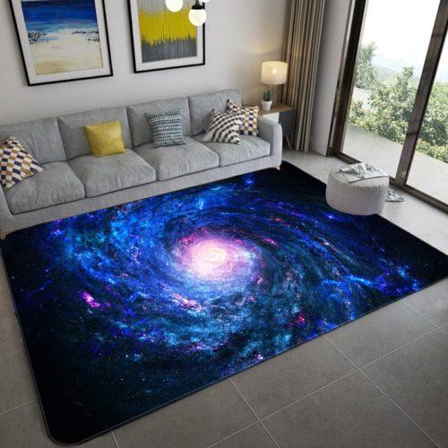 Galaxy Carpet Space House Rug
