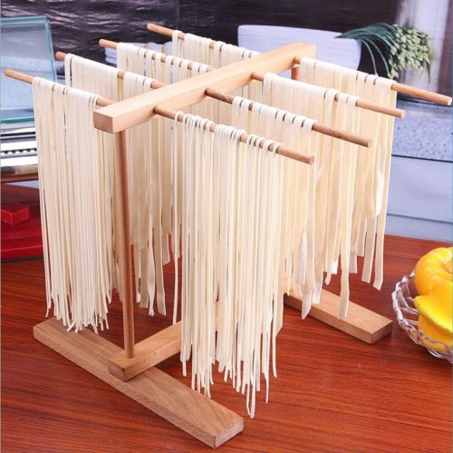 Kitchen Wooden Pasta Drying Rack