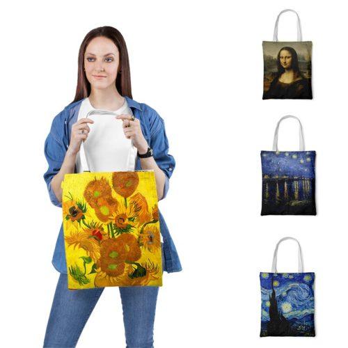Reusable Tote Van Gogh Bag