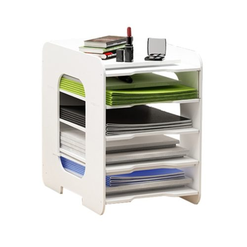 Multi-layer Documents File Rack