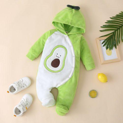 Infant Jumpsuit Baby Avocado Costume