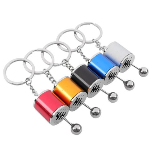 Manual Gear Shift Keychain