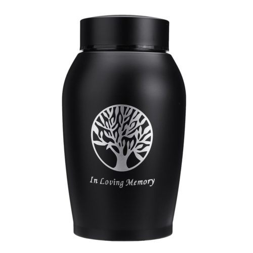 Stainless Steel 500ml Pet Cremation Urn
