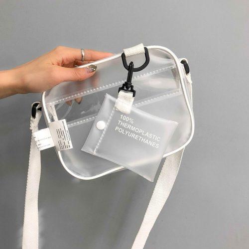 Women Transparent Crossbody Bag