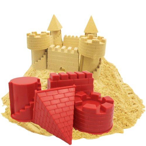 Plastic Sand Castle Mold Set (4pcs)