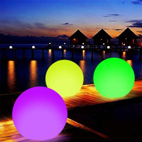 Inflatable Light Up Beach Ball