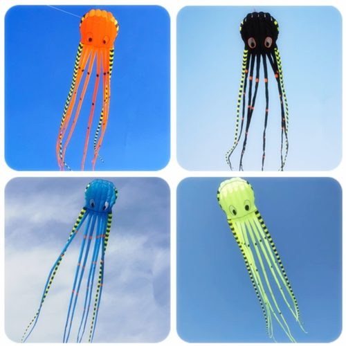 3D Giant Octopus Kite with Reel