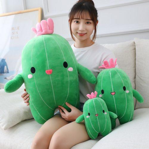 Cactus Plush Decorative Stuff Toy