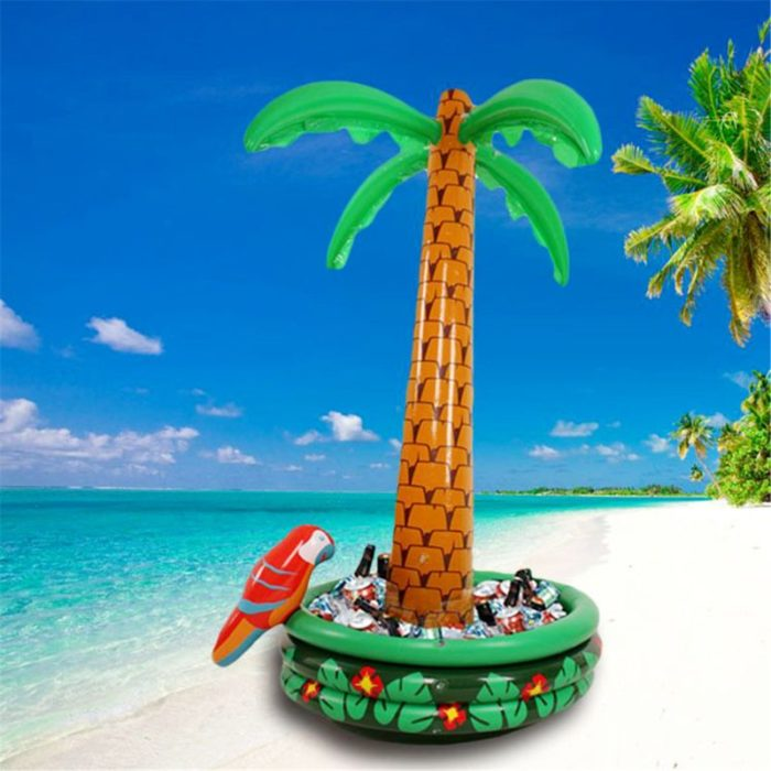 Palm Sprinkler Inflatable Ice Bucket