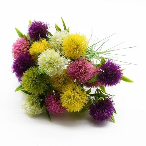 Artificial Dandelion Flowers Decoration