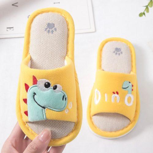 Dinosaur Kids' Indoor Slippers