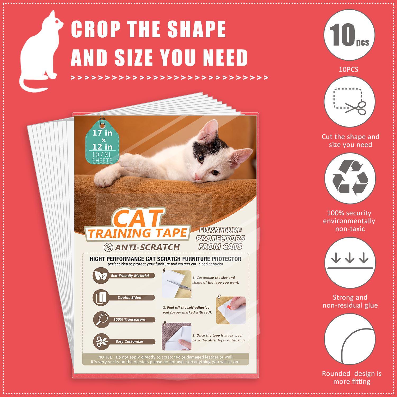 Couch Cat Scratch Guards Mat Scraper Cat Tree Scratching Claw Post Protector Sofa For Cats Scratcher Paw Pads Pet Furniture