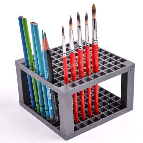 Paintbrush Stand Pen Holder Organizer