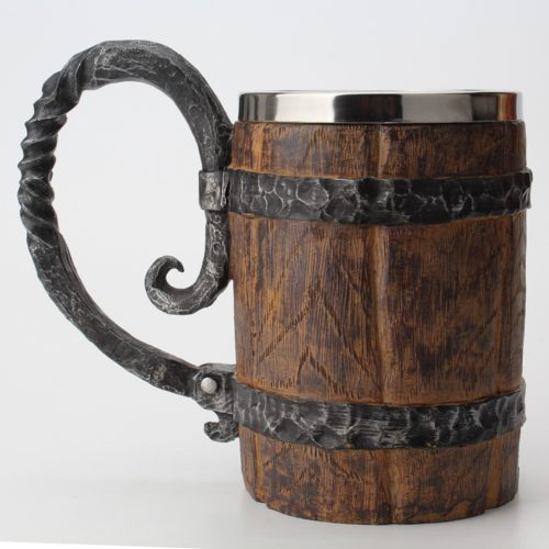 Barrel Mug Vintage Wooden Cup